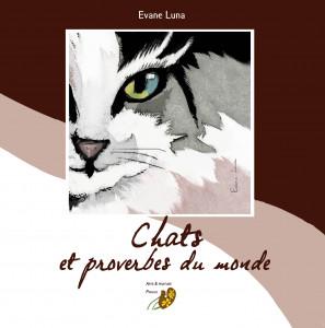 couverture carrée chats et proverbes